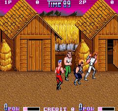 Double Dragon II: The Revenge (ARC)  © Technos 1988   3/3