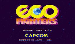 Eco Fighters (ARC)  © Capcom 1994   1/13