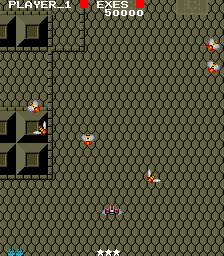 Exed Exes (ARC)  © Capcom 1985   3/3