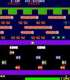 Frogger  © Sega 1981  (ARC)   2/4