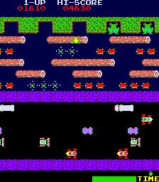 Frogger  © Sega 1981  (ARC)   3/4