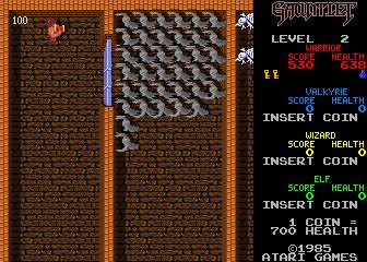 Gauntlet (ARC)  © Atari Games 1985   4/6