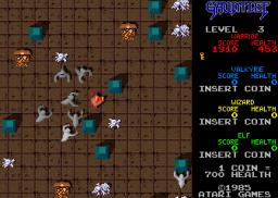 Gauntlet (ARC)  © Atari Games 1985   2/6