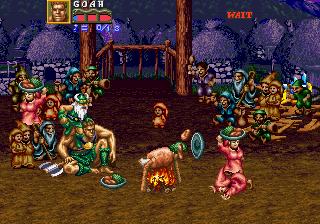 Golden Axe: Revenge Of Death Adder  © Sega 1991  (ARC)   4/7