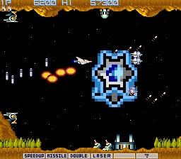 Gradius (ARC)  © Konami 1985   3/5