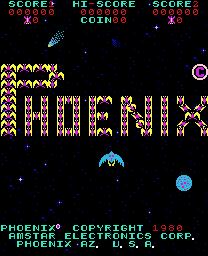 Phoenix (ARC)  © Taito 1980   1/3