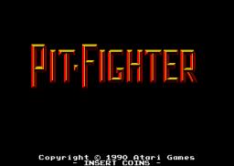 Pit-Fighter (ARC)  © Atari Games 1990   1/4