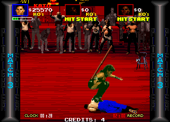 Pit-Fighter (ARC)  © Atari Games 1990   4/4