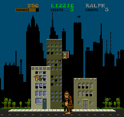 Rampage (ARC)   © Bally Midway 1986    3/4