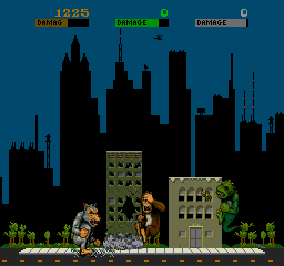 Rampage (ARC)   © Bally Midway 1986    2/4