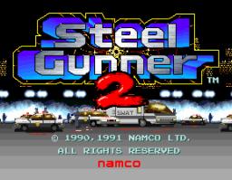 Steel Gunner 2 (ARC)  © Namco 1991   1/4