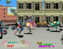 Steel Gunner 2 (ARC)  © Namco 1991   3/4
