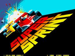 Super Sprint  © Atari Games 1986  (ARC)   1/3