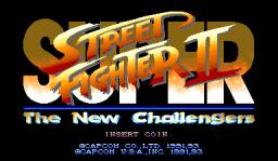 Super Street Fighter II  © Capcom 1993  (ARC)   1/4