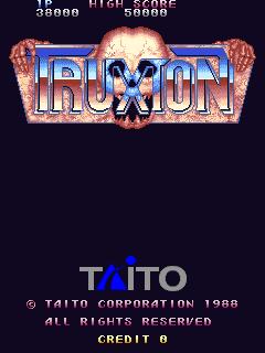 Truxton (ARC)  © Taito 1988   1/4