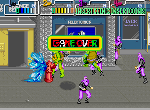 Teenage Mutant Ninja Turtles: The Arcade Game   © Konami 1989   (ARC)    2/6