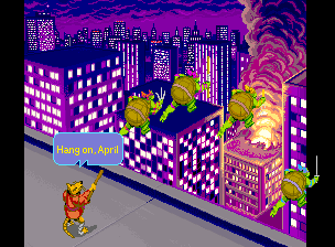 Teenage Mutant Ninja Turtles: The Arcade Game (ARC)   © Konami 1989    6/6