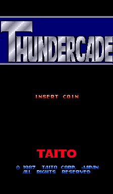 Thundercade (ARC)  © Taito 1987   1/4