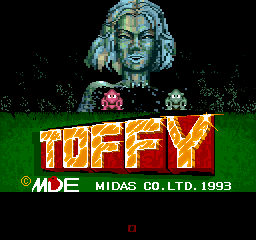 Toffy (ARC)   © Midas 1993    1/3