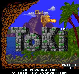 Toki (ARC)  © TAD 1989   1/7