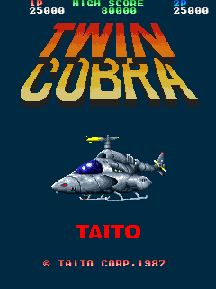 Twin Cobra (ARC)   © Taito 1987    1/4