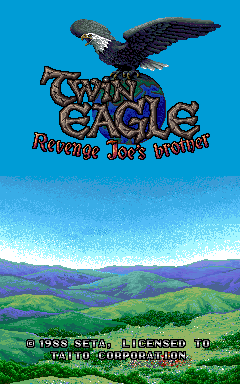 Twin Eagle (ARC)  © Taito 1988   1/3