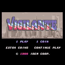 Vigilante (ARC)  © Irem 1988   1/4