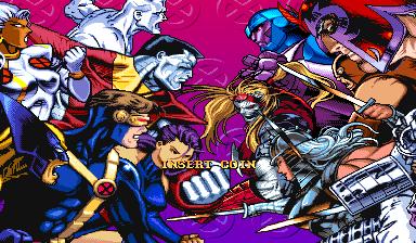 X-Men: Children Of The Atom (ARC)  © Capcom 1994   6/9