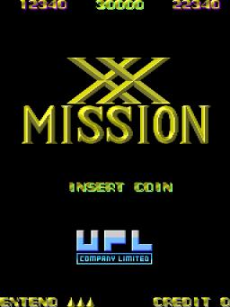XX Mission (ARC)  © UPL 1987   1/3