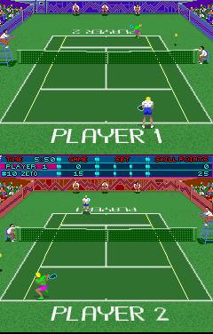Hot Shots Tennis (ARC)  © Strata 1991   2/3