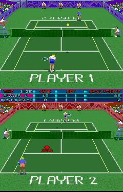 Hot Shots Tennis (ARC)  © Strata 1991   3/3