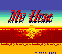 My Hero (ARC)   © Sega 1985    1/4