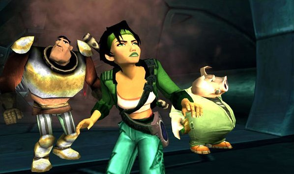 Beyond Good & Evil (XBX)   © Ubisoft 2003    4/6