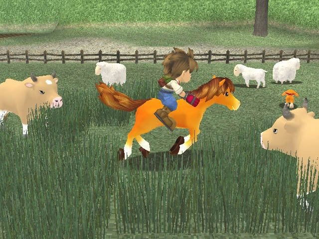 Harvest Moon: A Wonderful Life (GCN)   © Ubisoft 2003    4/7