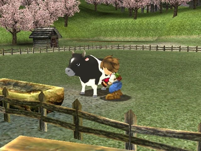 Harvest Moon: A Wonderful Life (GCN)   © Ubisoft 2003    7/7