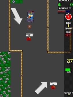 A.P.B. (ARC)  © Atari Games 1987   3/3