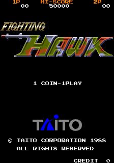 Fighting Hawk (ARC)  © Taito 1988   1/4