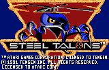 Steel Talons (LNX)  © Atari Corp. 1992   1/3