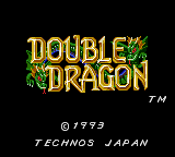 Double Dragon (GG)   © Virgin 1993    1/1