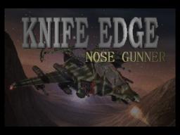 Knife Edge (N64)  © Kemco 1998   1/2