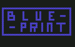 Blue Print (C64)   © Commodore 1983    1/3