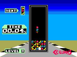 Columns (SMS)  © Sega 1990   5/6