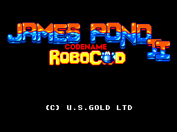 James Pond II: Codename Robocod (SMS)   © U.S. Gold 1993    1/3