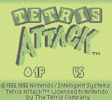 Tetris Attack (GB)   © Nintendo 1996    1/3