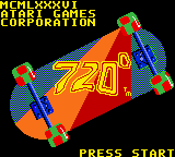 720 Degrees (GBC)  © Midway 1999   1/3