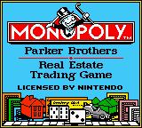 Monopoly (1999 Sculptured) (GBC)  © Majesco 1999   1/3