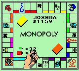 Monopoly (1999 Sculptured) (GBC)  © Majesco 1999   3/3
