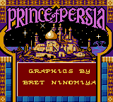 Prince Of Persia (GBC)  © Red Orb 1999   1/3
