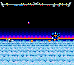 Arrow Flash (SMD)   © Sega 1990    4/4