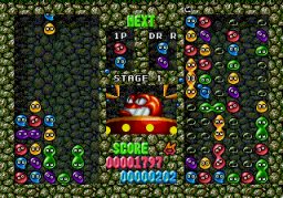 Dr. Robotnik's Mean Bean Machine (SMD)  © Sega 1993   2/6